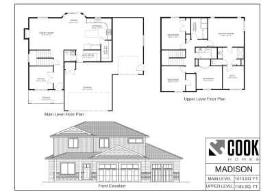 Madison Floor Plan /// Cook Homes